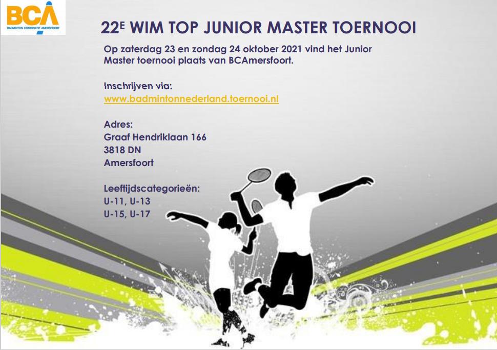 Uitnodiging 22e Wim top junior master toernooi 2021-2022 foto[384]